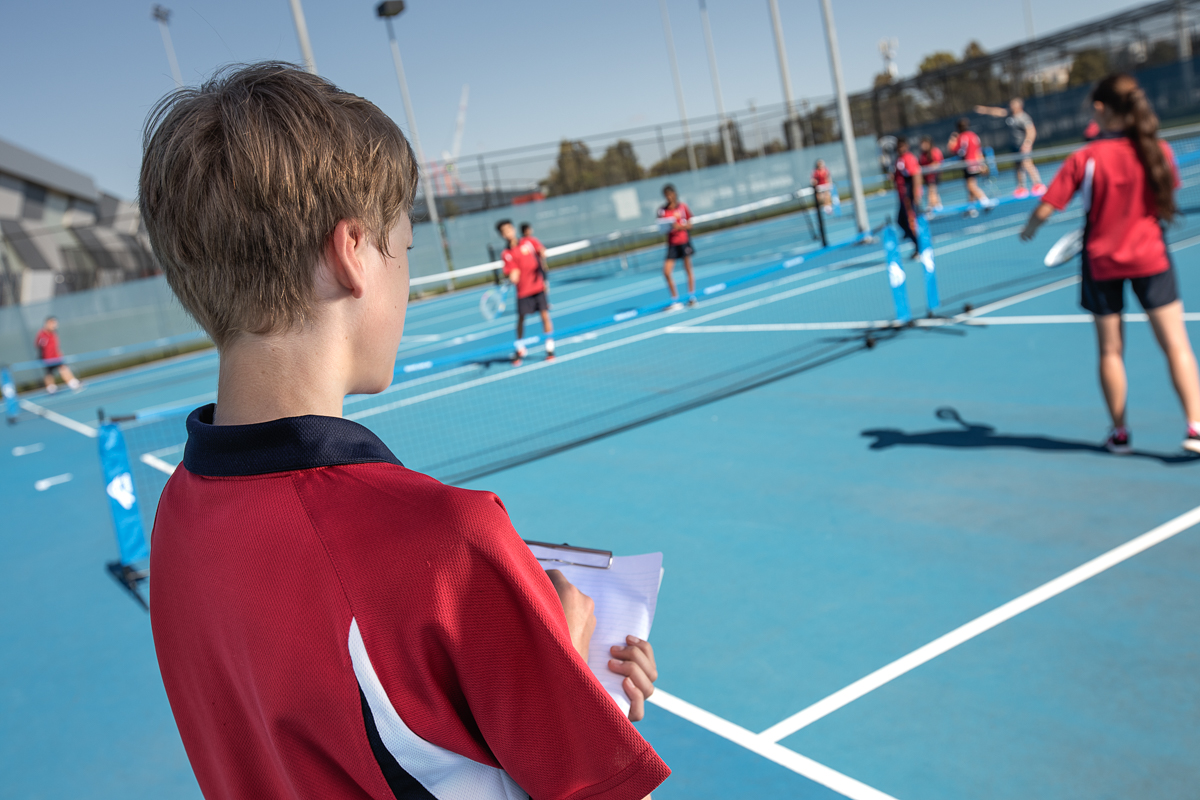 Secondary School Tennis Program