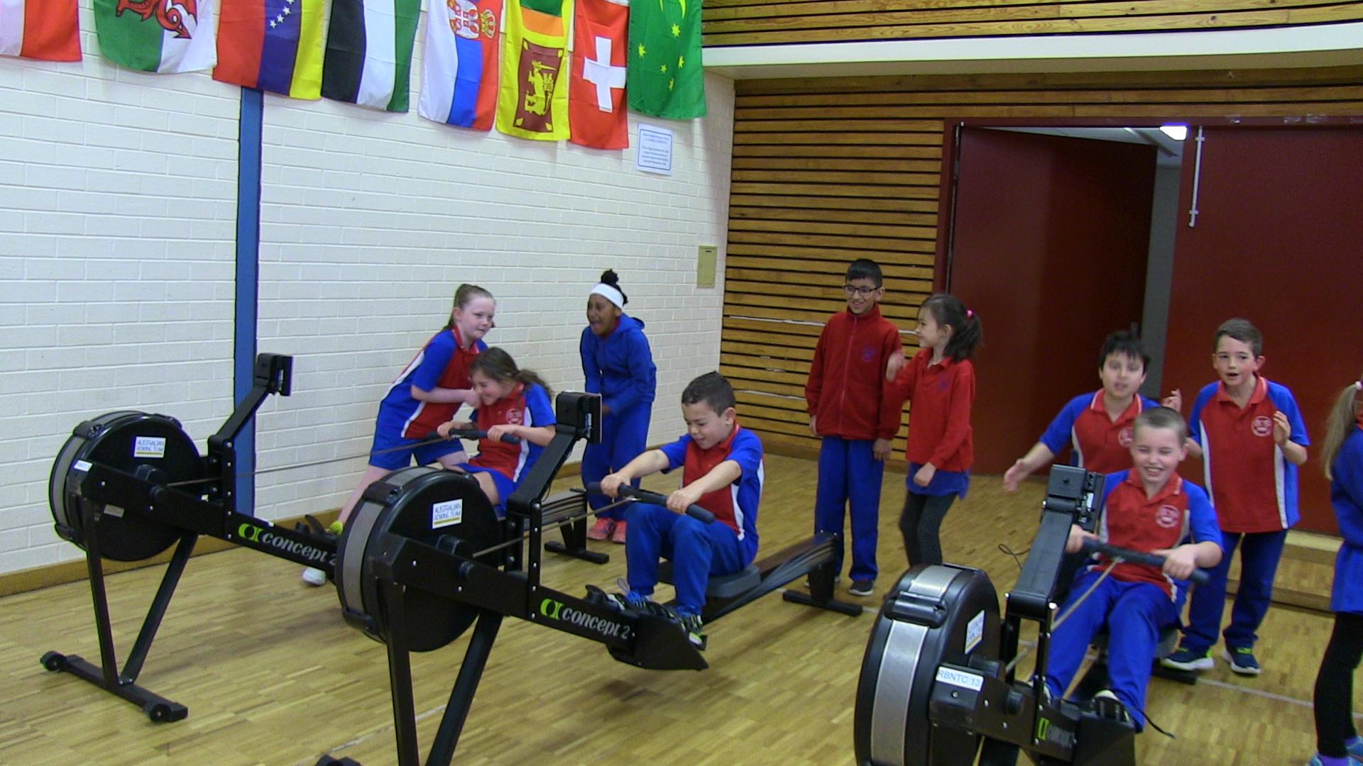 Indoor rowing program