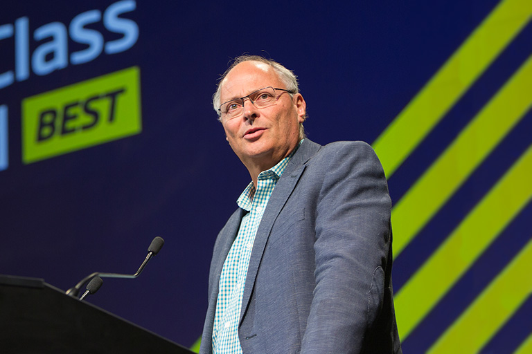 AIS Director Peter Cone