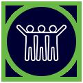 Sport participation icon