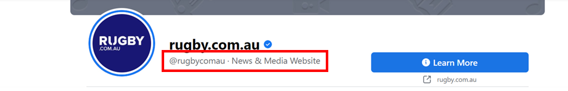 """Screenshot of """"About"""" section of a facebook page"""