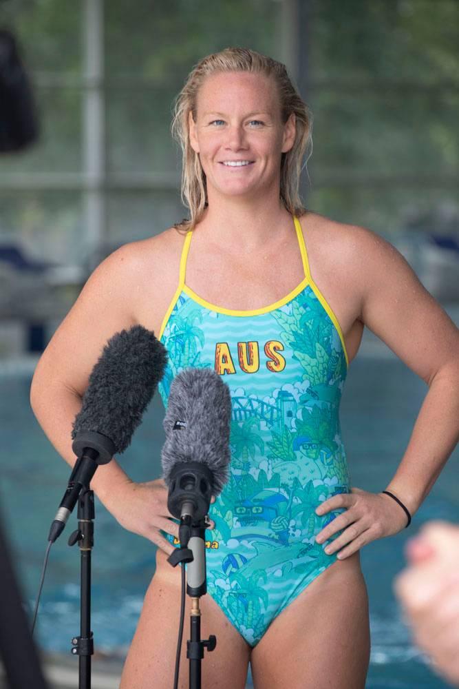 Aussie Stingers Water Polo team captain Rowena Webster