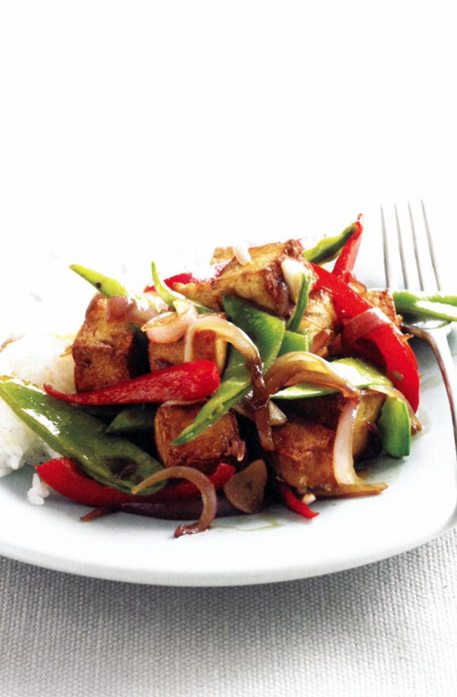 Caramelised-tofu