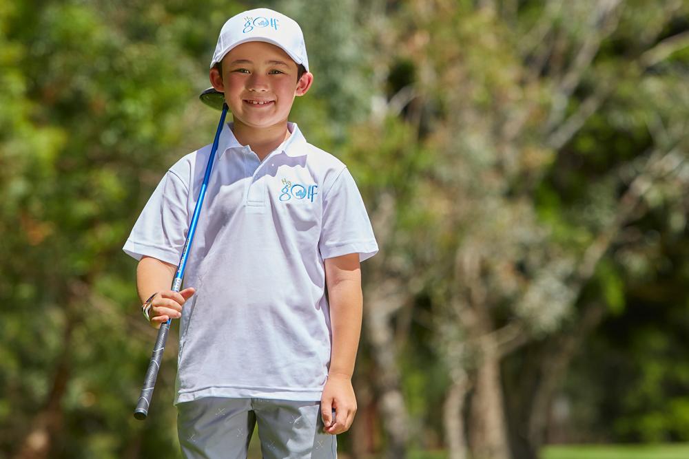 My golf promo image