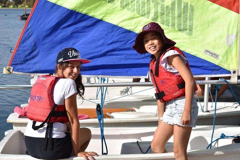 Sporting Schools sailing