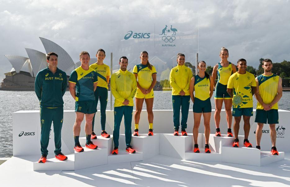 Aus Olympic team in Sydney